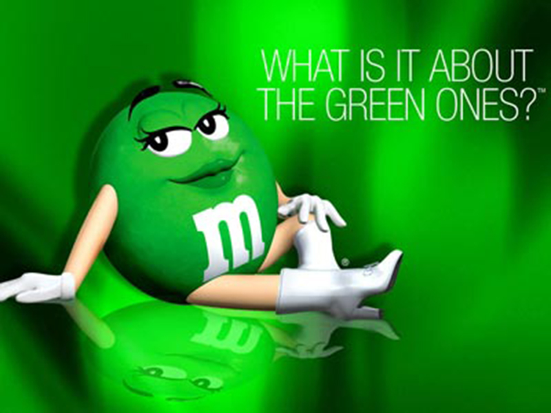 Green M&Ms - What Is It About The Green Ones Campaign