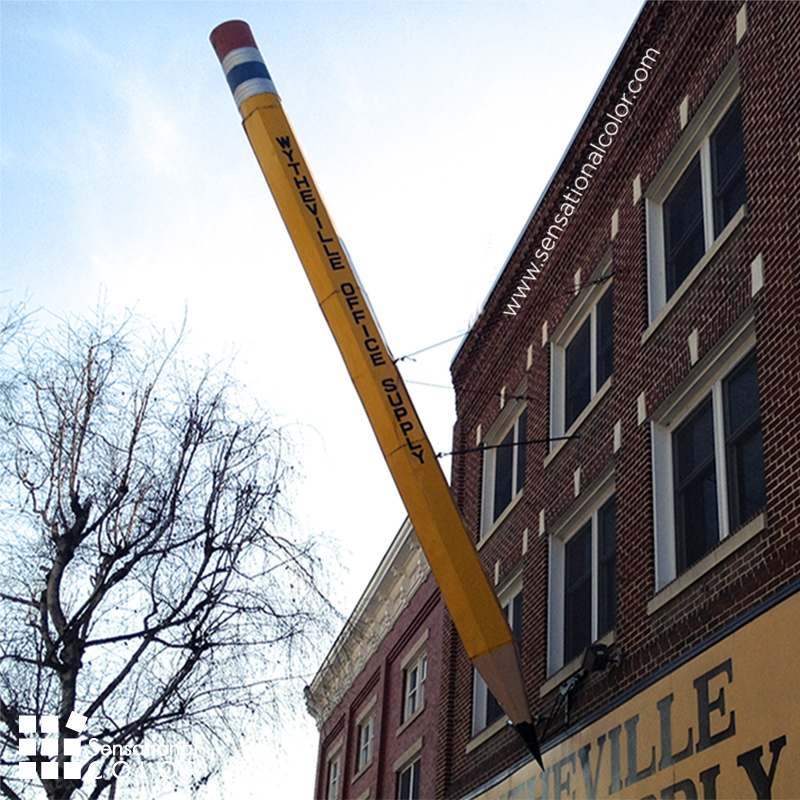 Yellow Pencil Meaning Giant Pencil