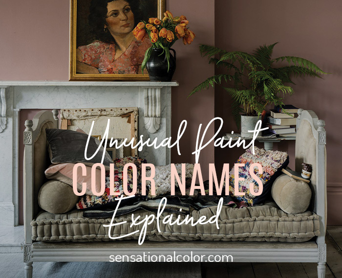 Title - Unusual Paint Color Names Explained