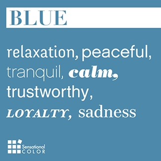 Meaning of Blue Words