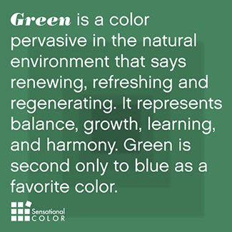 Meaning of Green Defined