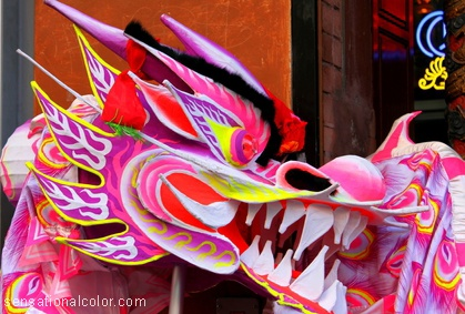 Chinese New Year Color Meaning Dragon