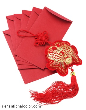 Chinese New Year Color Meaning Red Envelopes