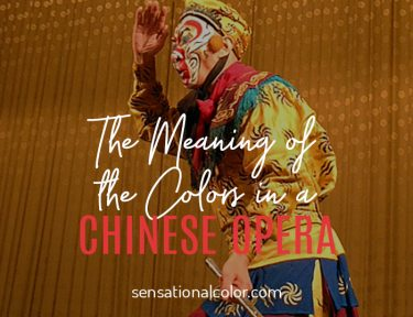 Color Symbolism of Chines Opera Masks