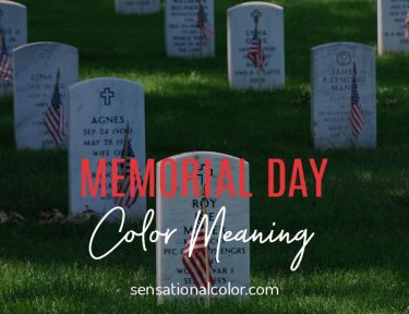 Memorial Day Color Meaning