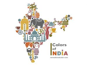 Symbolic Colors Of India
