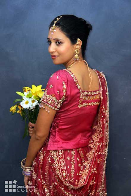Red meaning for an Indian Bride