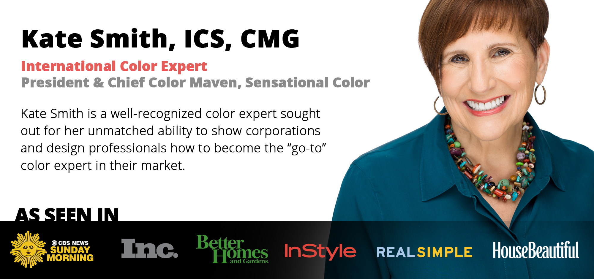 Color expert Kate Smith