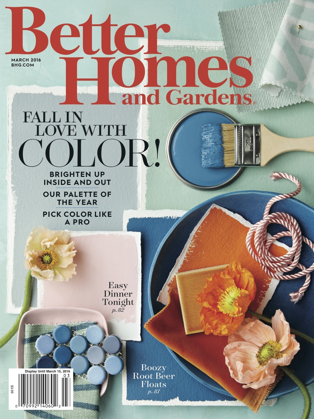 Better Homes and Gardens Color Issue