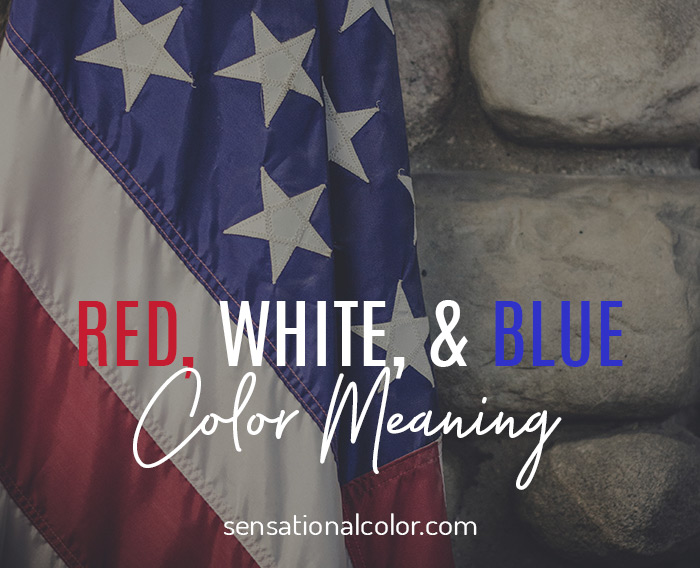 Red White Blue Meaning as the Colors of the American Flag