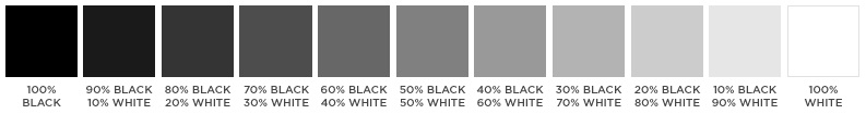 Color Theory Grayscale