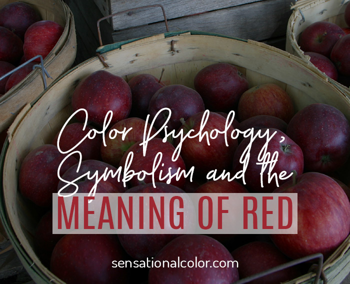 Color Meaning, Symbolism, and Psychology of the Color Red