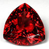 Triangular Cut Pyrope Garnet