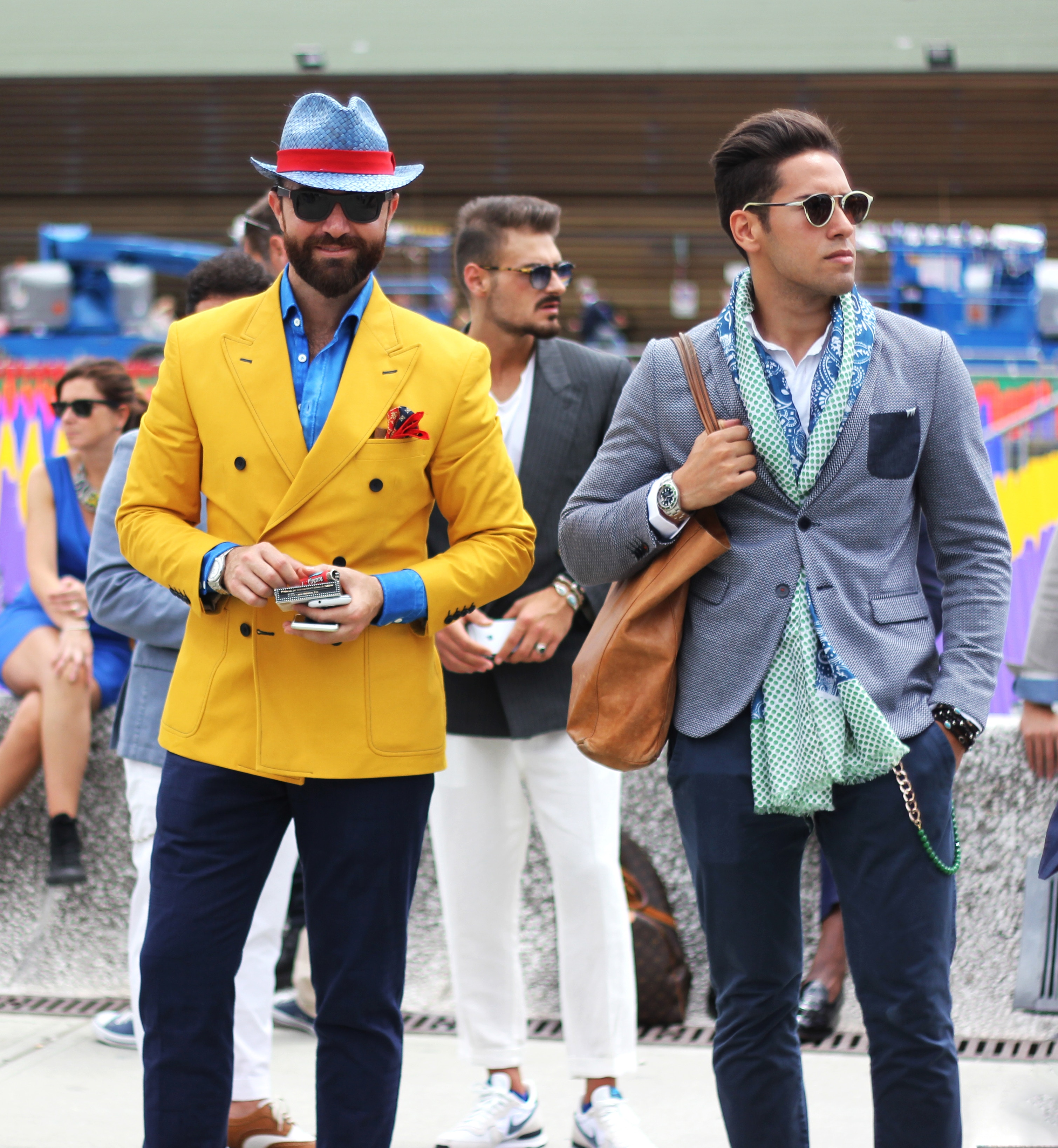 men's business colors for casual events