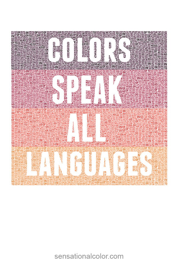 Colors Speak All Languages
