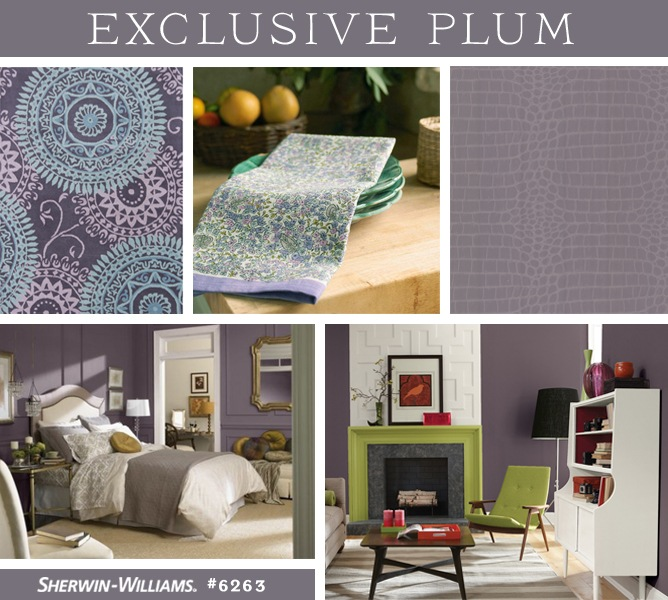 Color of the Year 2014 Sherwin-Williams Exclusive Plum