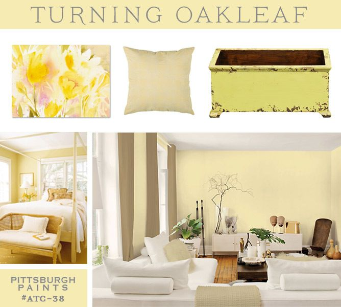Color of the Year 2014 PPG Pittsburgh Paints Turning Oakleaf