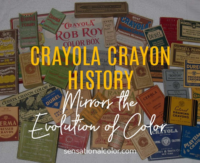Crayola Color History