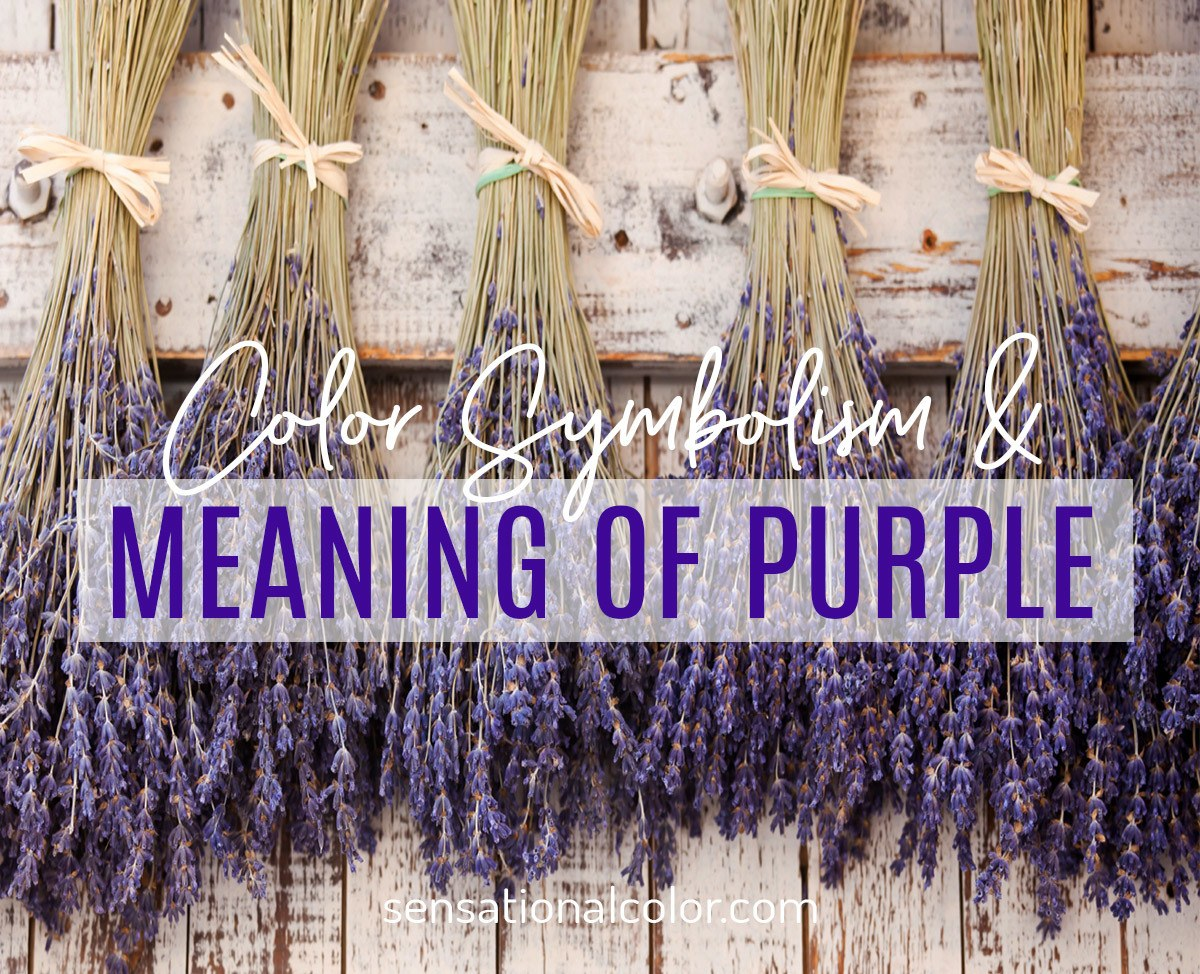 Color Symbolism and Meaning of Purple