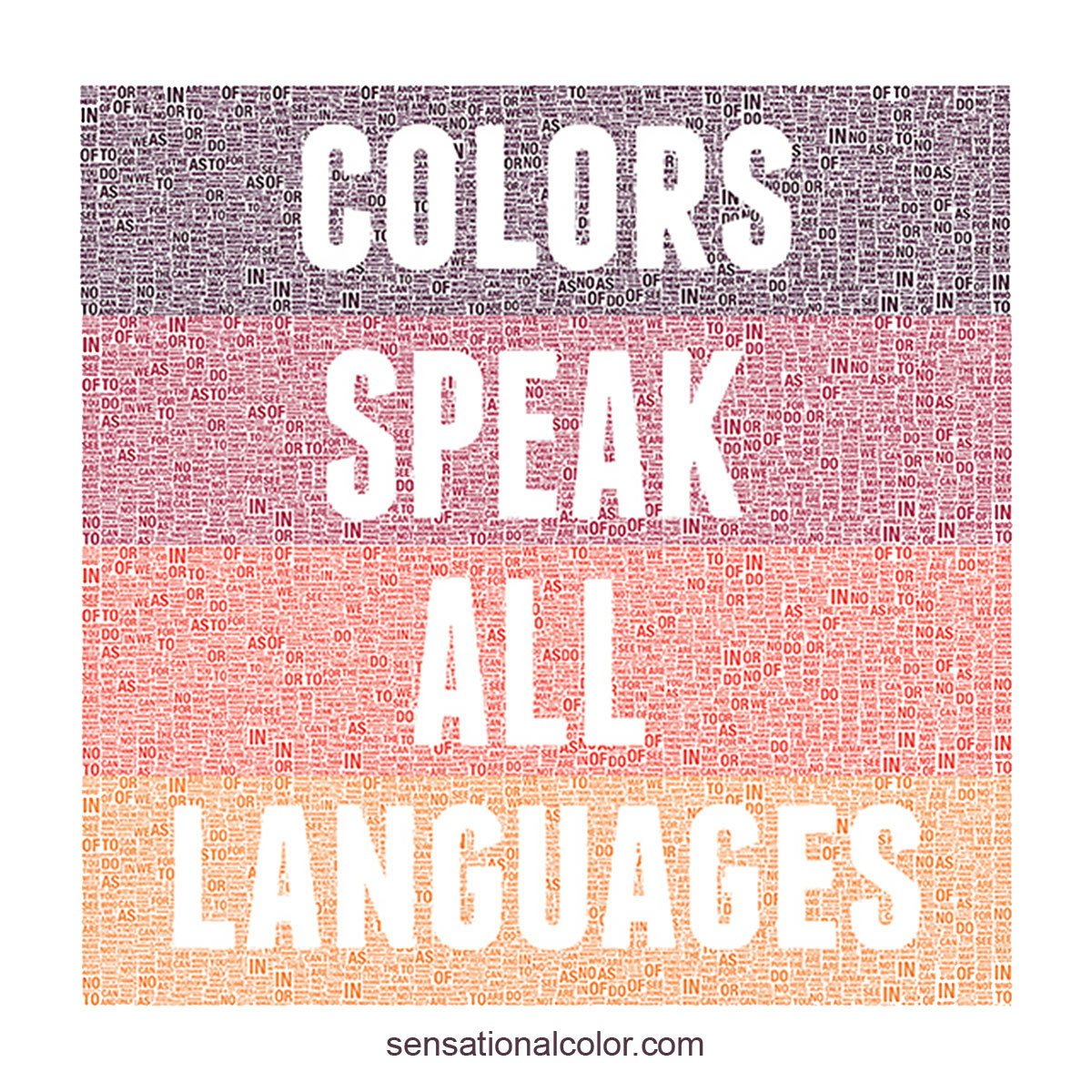 Addison Quote Colors Speak All Languages