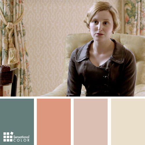 Downton Abbey Colors