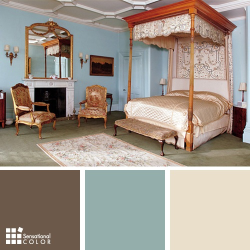 Downton Abbey Color Scheme