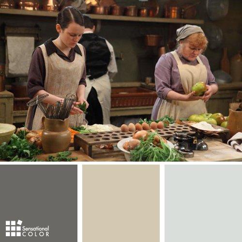 Downton Abbey Color Palette