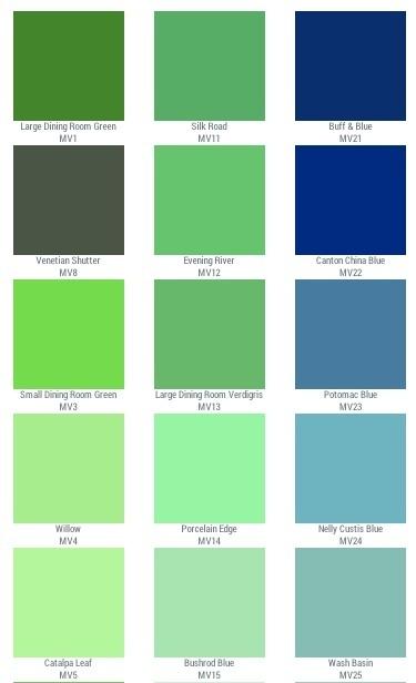 Mount Vernon Green Historic Color
