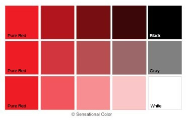 Red Hue Value Chroma Chart