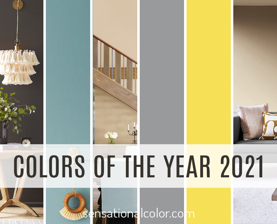 Colors of the Year 2021
