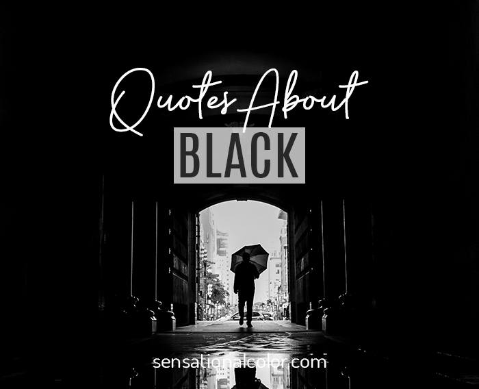 Quotes About Black