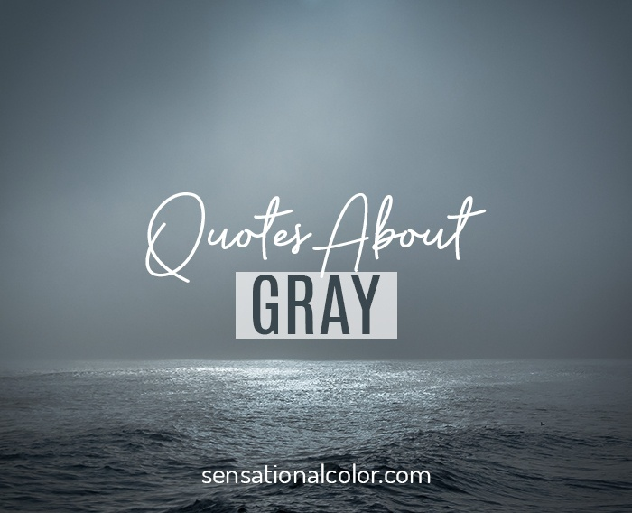 Quotes About Gray