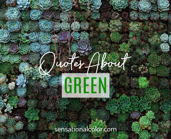 Quotes About Green