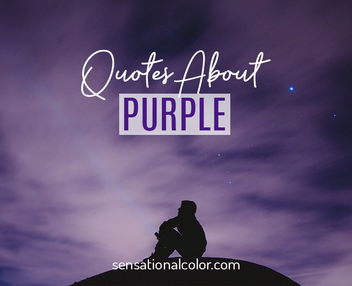 Quotes About Purple