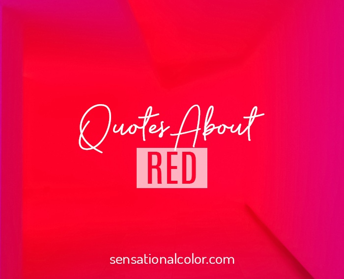 Quotes About Red